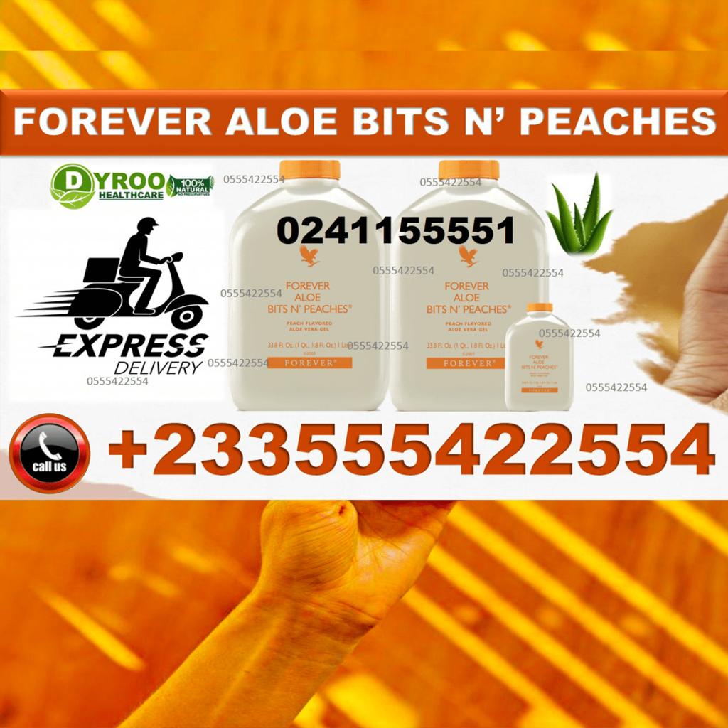 Forever Aloe Bits N' Peaches in Ghana