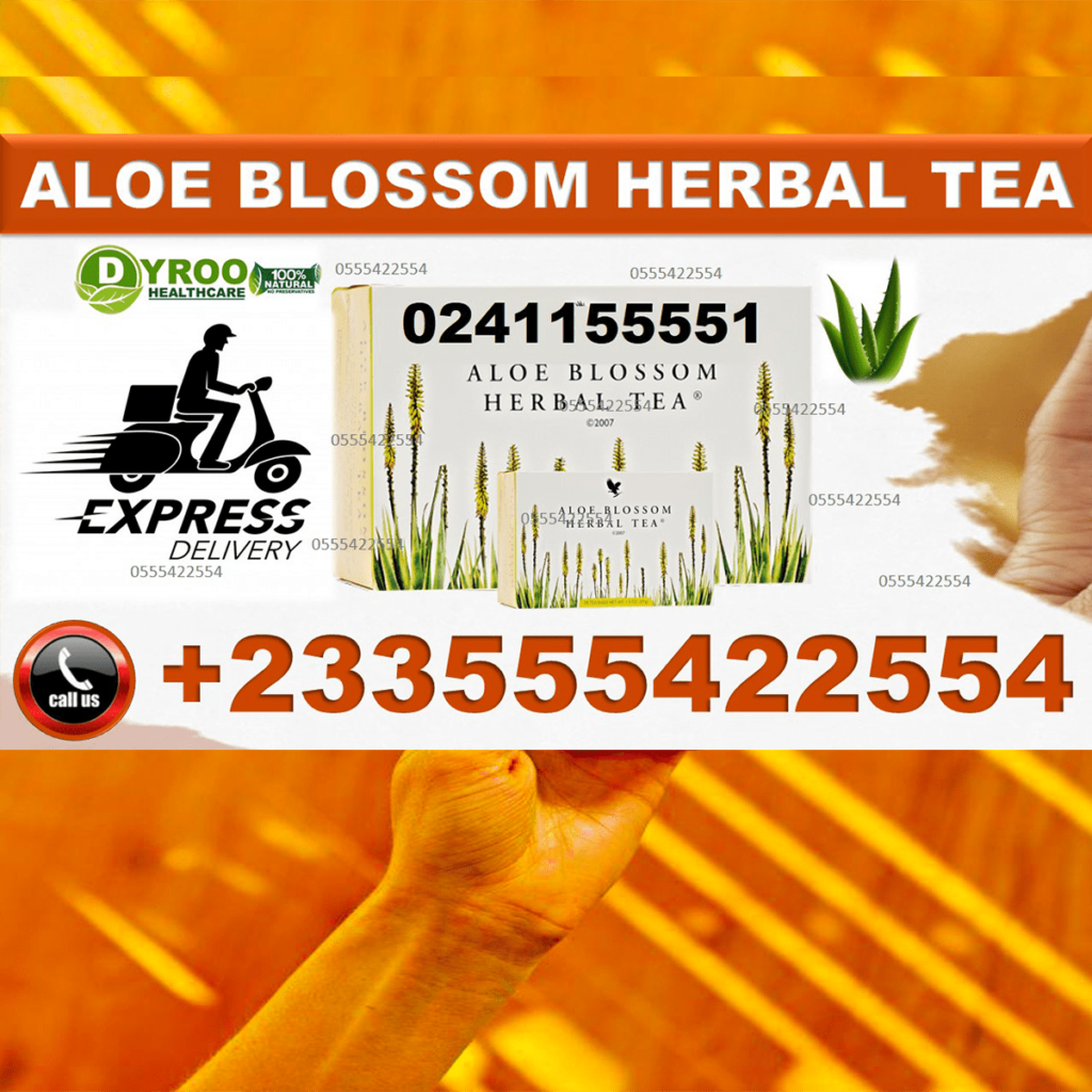 Aloe Blossom Herbal Tea in Ghana