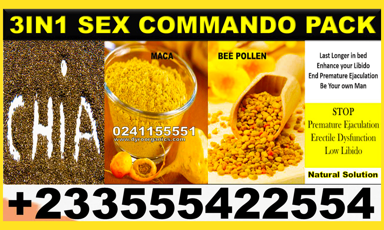 3in1 SEX COMMANDO PACK