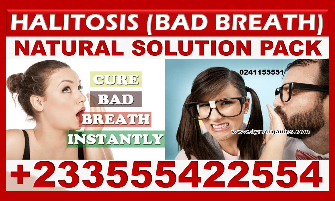 BAD BREATH NATURAL TREATMENT PACK