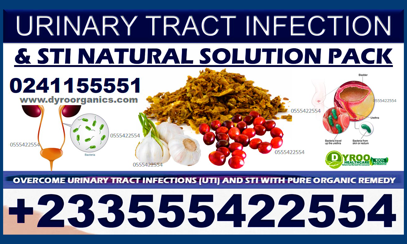 Natural Supplements for Urinary Tract Infection in Ghana