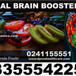 Natural Brain Booster Pack