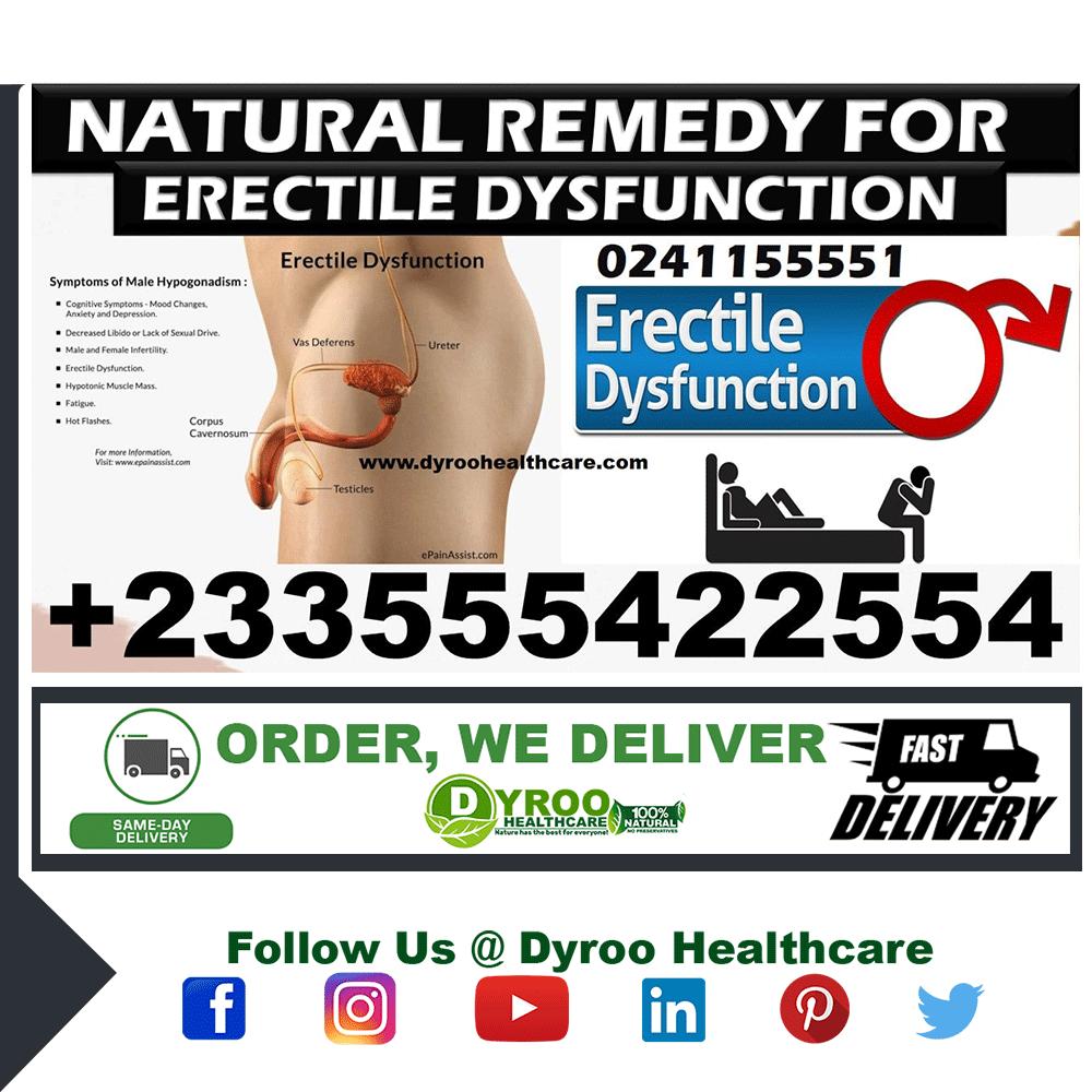 ERECTILE DYSFUNCTION NATURAL TREATMENT PACK