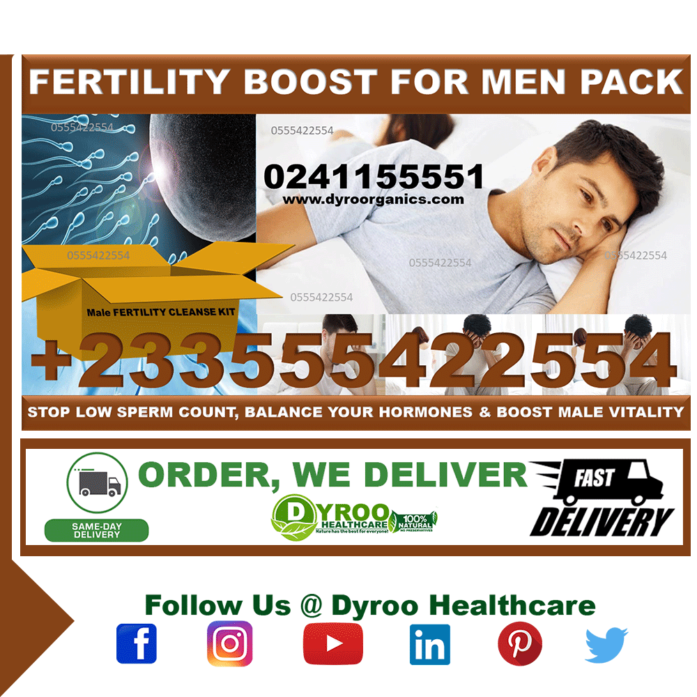 Fertility Supplements for Men in Ghana