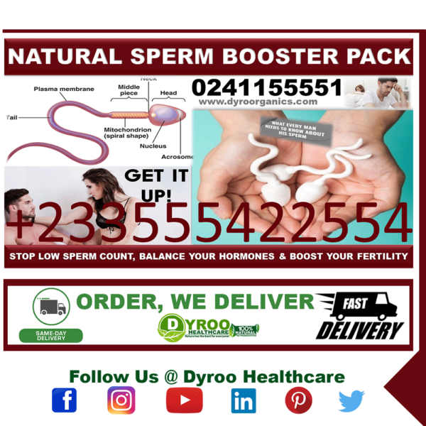 Herbs and Supplements to Boost Sperm Count in Ghana