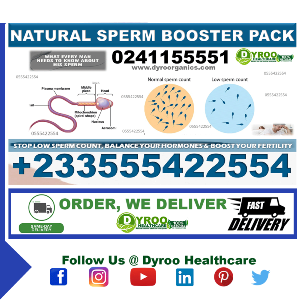 Natural Remedy to Boost Sperm Count in Ghana