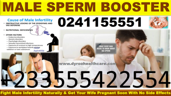 Herbal Medicine to Boost Sperm Count in Ghana