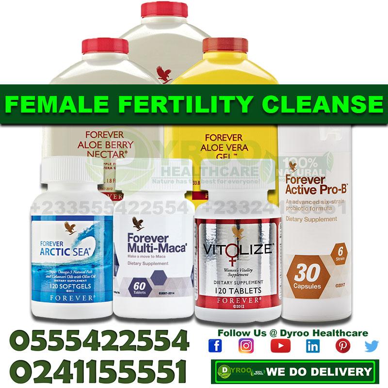 Fertility Cleansing Kit for Women