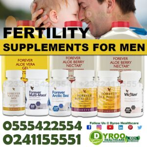 Natural Supplements for Male Fertility Boost