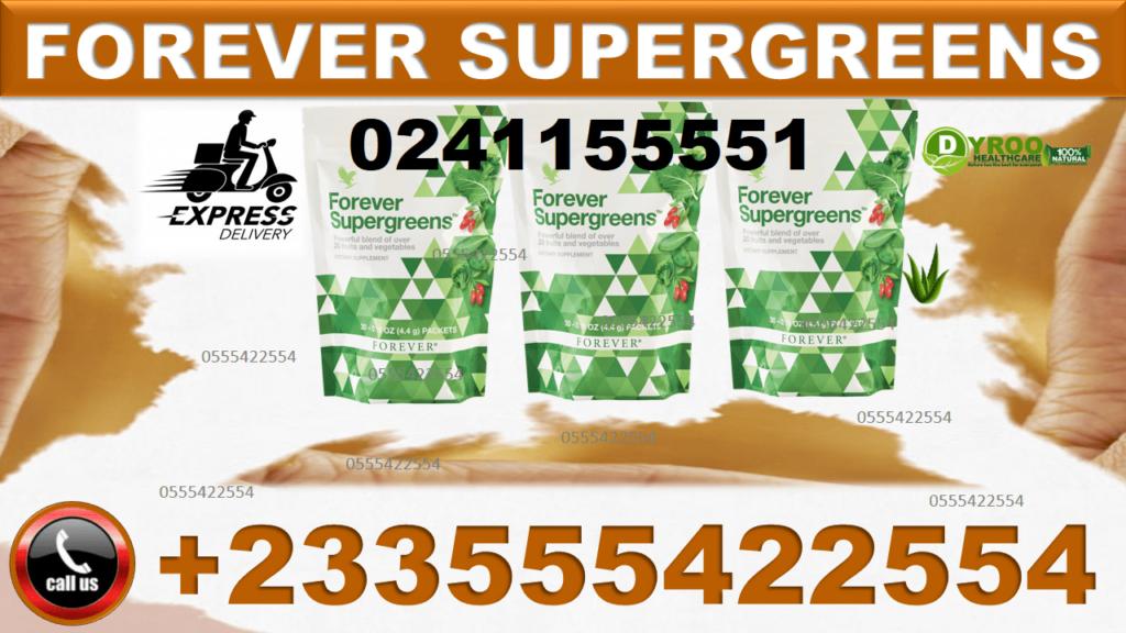 Price of Forever Living Supergreens in Ghana